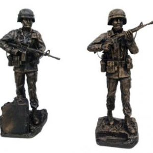 Male and Female Soldier